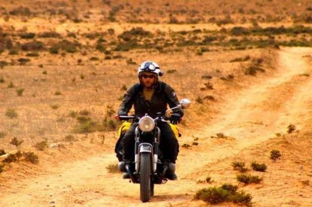 BMW R 1200 GS u operaciji Sahara