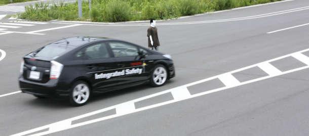 Toyota razvija novu tehnologiju za bezbednost pešaka