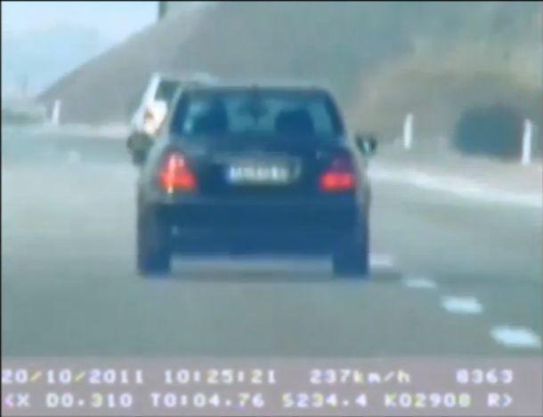 Nasilnička vožnja: Mercedes jurio čak 250 km na sat