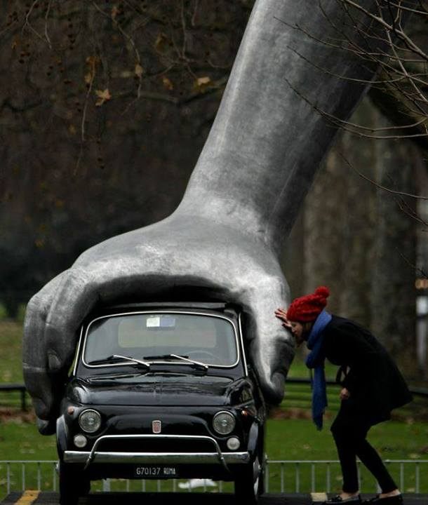 Fiat kao art instalacija
