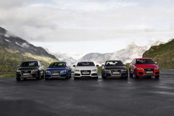 Audi Land of quattro turneja po Alpama 2013