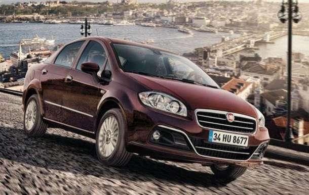 Nova Fiat Linea modela tokom 2015.