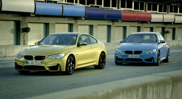 Novi BMW M3 sedan i BMW M4 kupe!