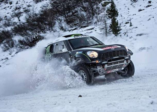 MINI ALL4 Racing tim spreman za Dakar 2014