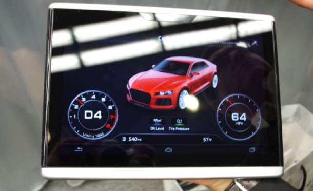 Audi Android tablet za upotrebu u automobilu!