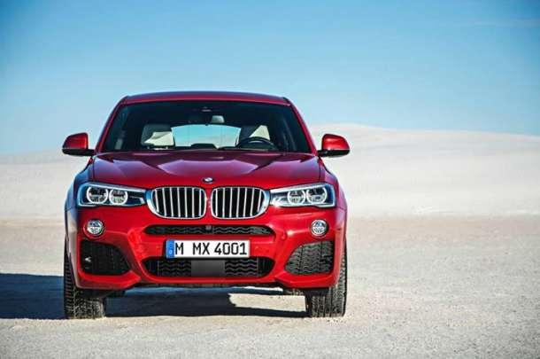 Ovo je novi BMW X4!