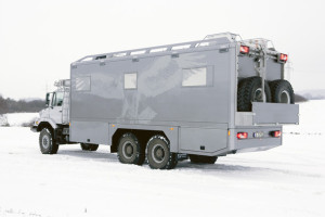 Mercedes-Benz Zetros 6×6 - luksuzno terensko vozilo