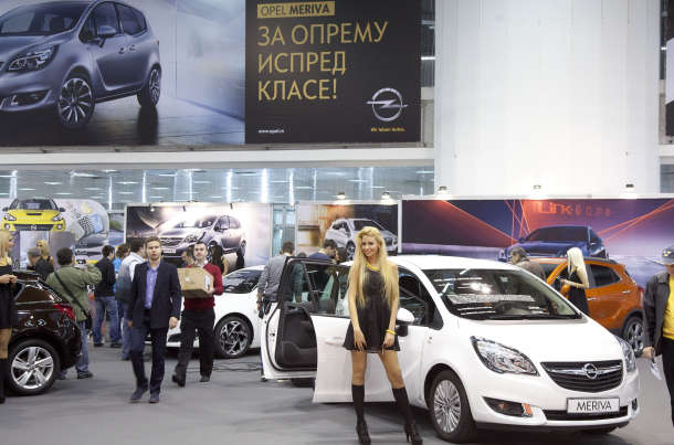 Opel na sajmu automobila BG CAR Show u Beogradu