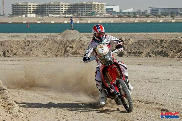 Honda na vrhu Abu Dabi pustinjskog izazova
