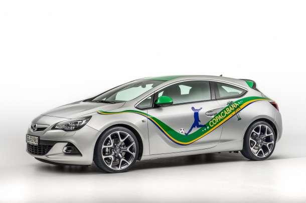 Specijalno fudbalsko izdanje Opel Astra Copocabana
