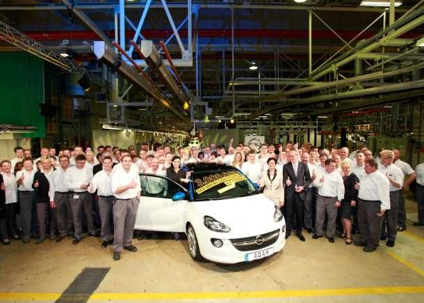 Tromilioniti automobil iz Eisenach-a je Opel ADAM
