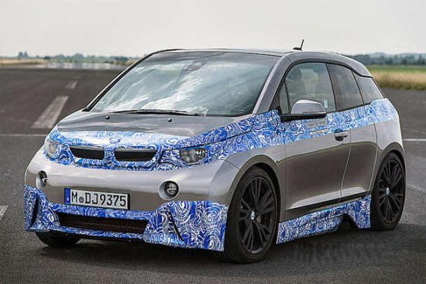 BMW i3M uveliko na testiranju