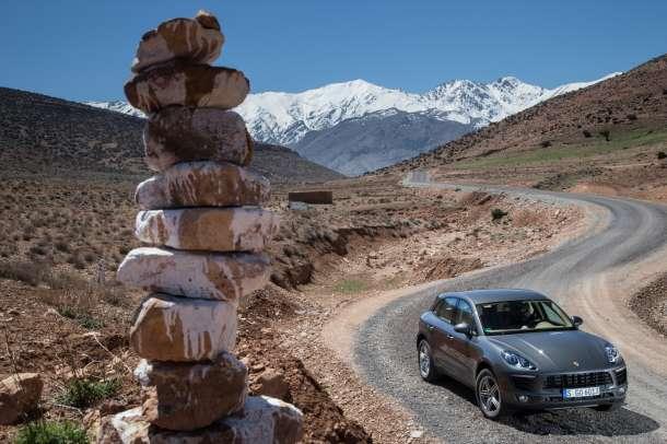 Porsche Macan na testu u Maroku