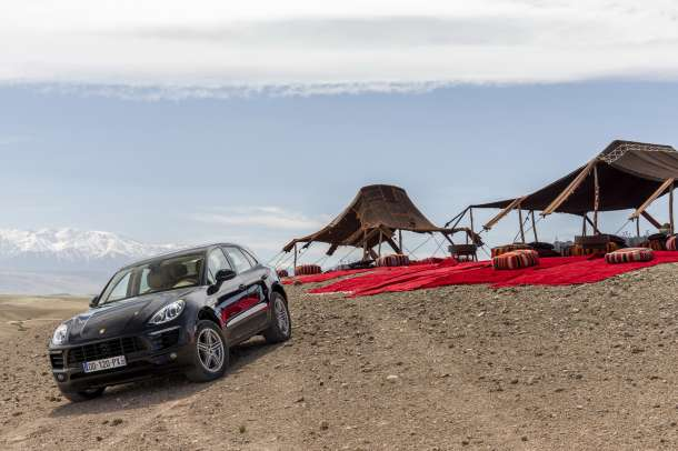 Porsche Macan Maroko