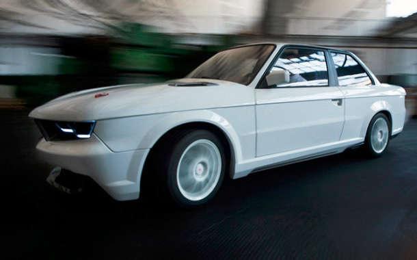 Zanimljiva retro-stilizacija starog BMW E30