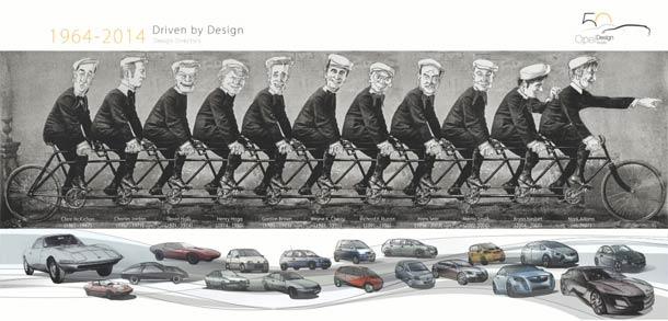 50 godina inovacija: Opel Design Studio prvi tog tipa u Evropi