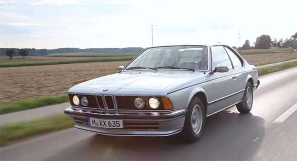 Prvi BMW serije 6 (E24) i ulazak u elektronsko doba