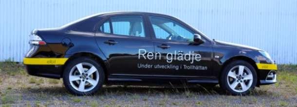 Nevs predstavio novi Saab 9-3 EV prototip