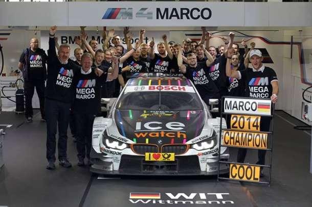 BMW je DTM šampion za 2014!