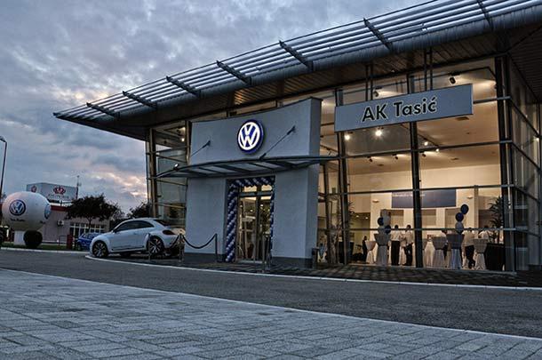 Novi Volkswagen diler – AK Tasić, Subotica
