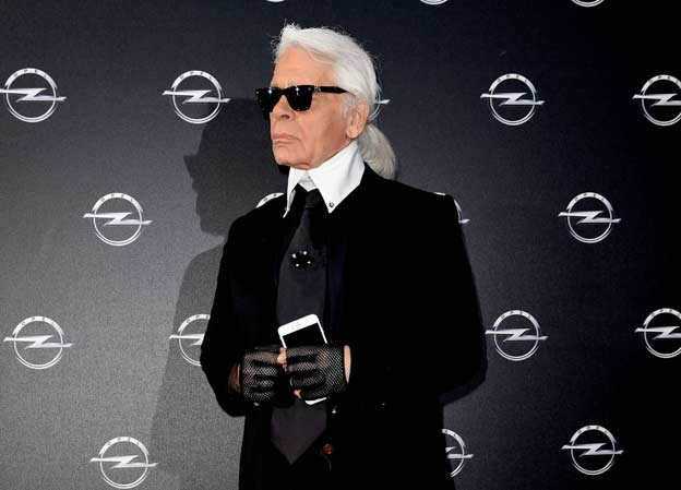 "Karl Lagerfeld otvorio Opelovu izložbu ""Corsa Karl and Choupette"""