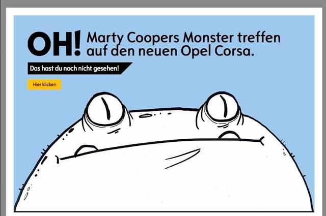 Novu Opel Corsu promoviše Marty Cooper aka Hombre McSteeza