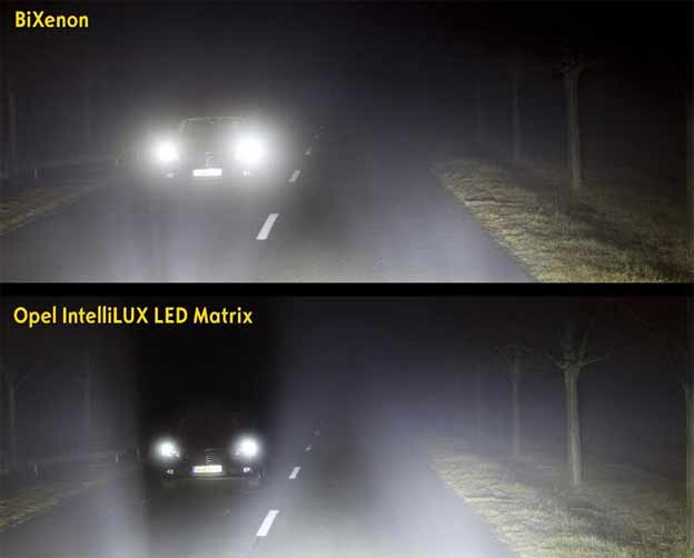 Opel IntelliLux LED Matrix Light