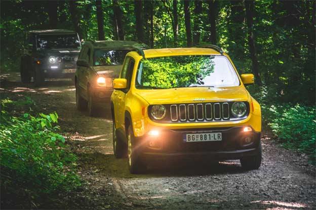 Jeep avantura na Fruškoj Gori
