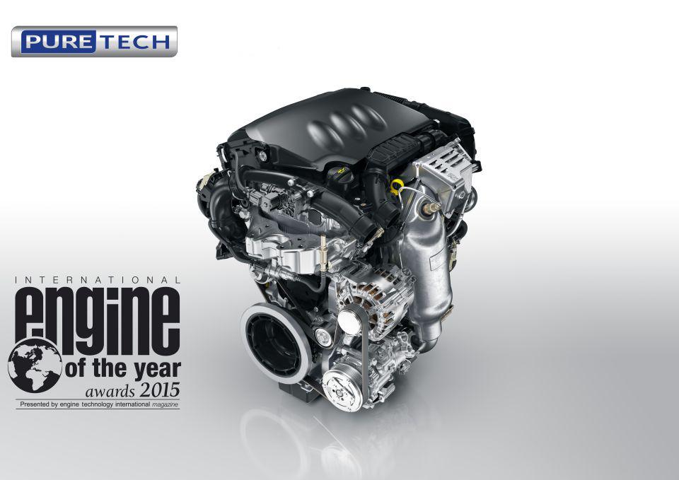 MEĐUNARODNI MOTOR ZA 2015. GODINU : Peugeot 1.2 turbo PureTech
