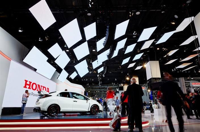 Novi Honda modeli u Frankfurtu na #IAA2015