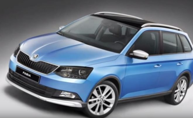 Škoda Fabia Combi ScoutLine (video)