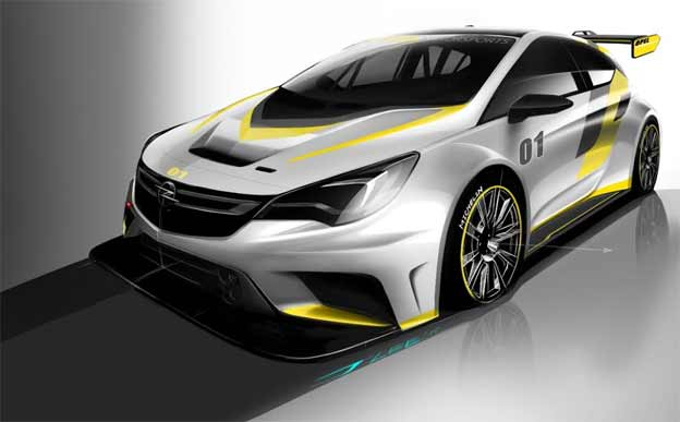 Svetska premijera nove Opel Astre TCR