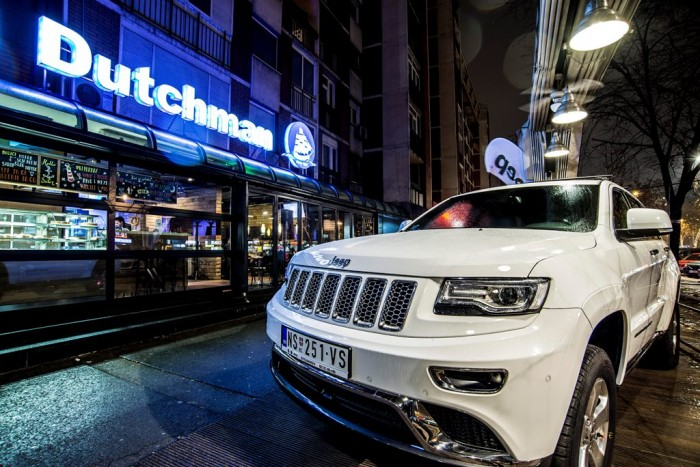 Promocija Jeep Grand Cherokee uz Juventus
