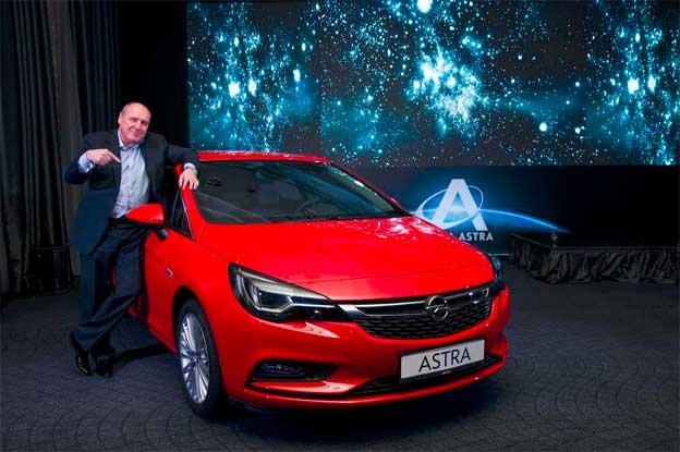 Opela Astra premijerno u Srbiji