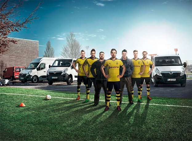 Opel and Borussia Dortmund