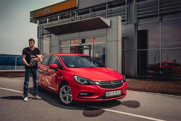 Čaba Silađi i Nova Opel Astra