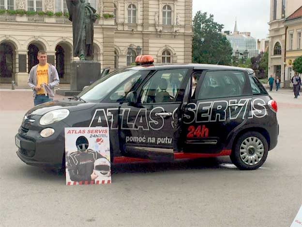 Atlas servis akcija u Novom Sadu