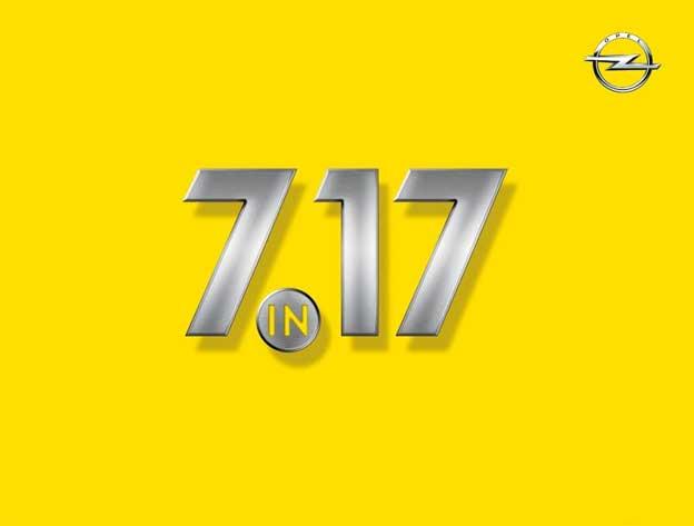 Opel 7 in 17