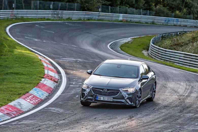 Nova Opel Insignia GSI Nürburgring