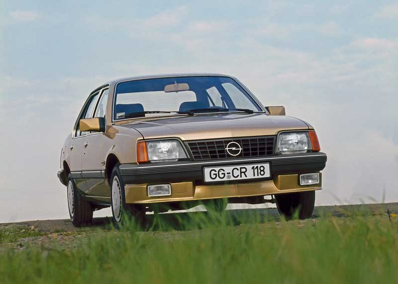 Opel Ascona 1.8i prvi nemački automobil sa katalizatorom pravljen za Evropu
