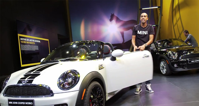 MINI Roadster u Detroitu