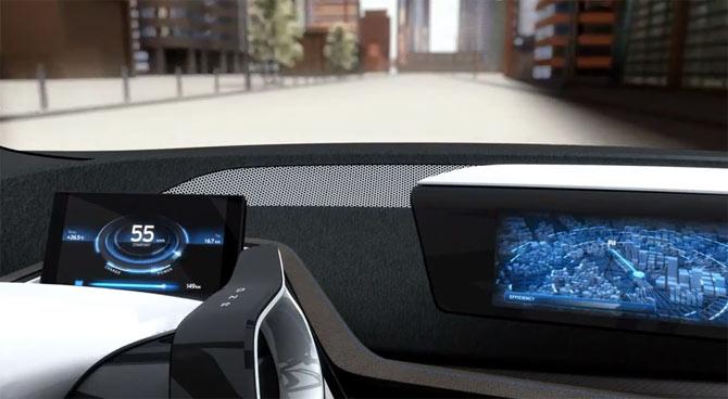 BMW i3 Concept vizuelizacija vozačkog iskustva