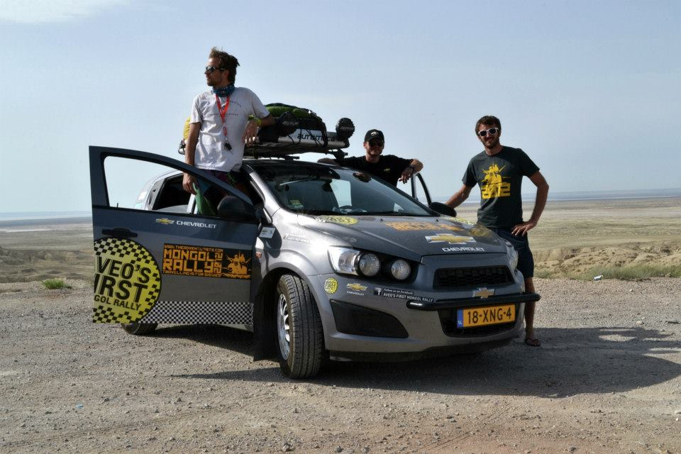 Chevrolet Aveo PRVI tim za reli u Mongoliji stigao na cilj