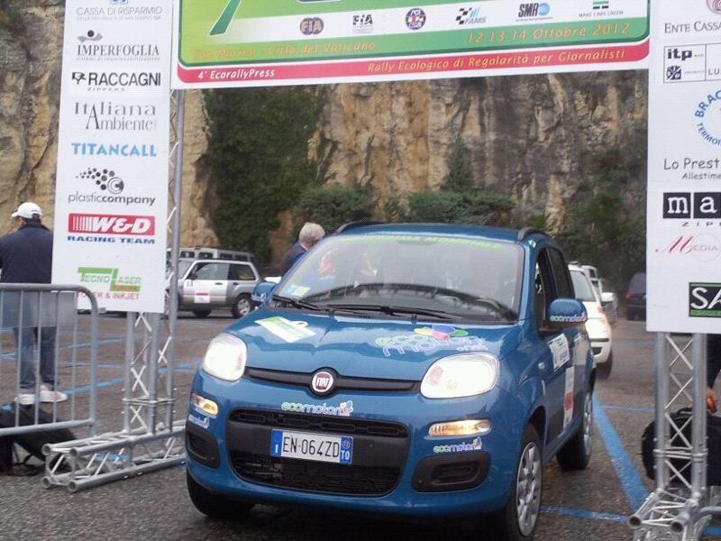 Fiat Panda Natural Power na Ekoreliju