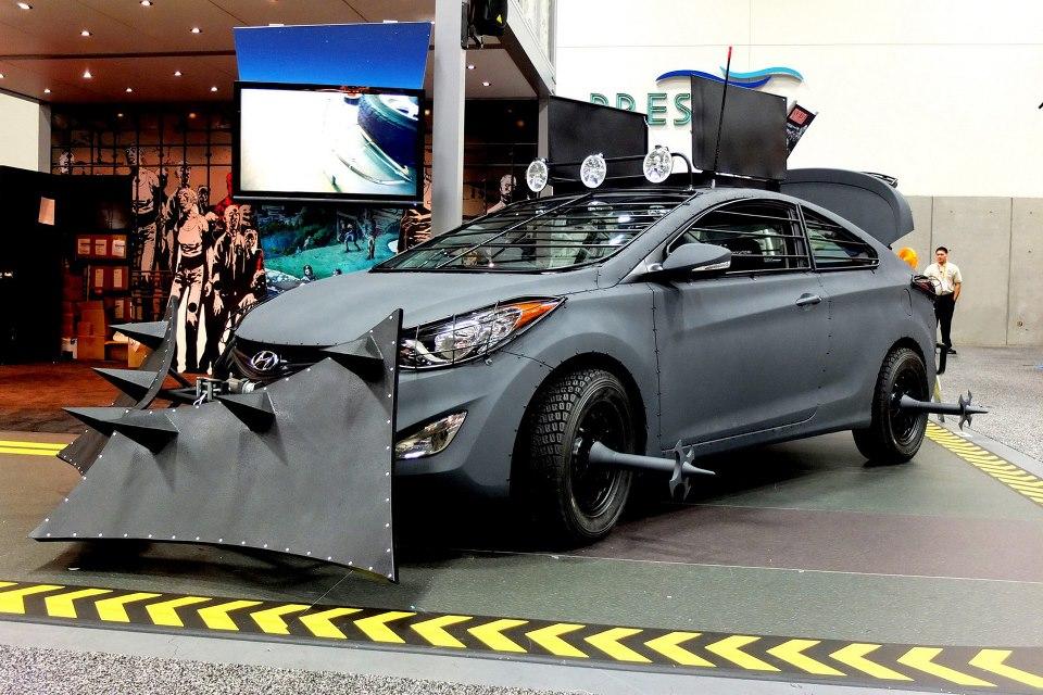 Hyundai Zombie Survival Machine