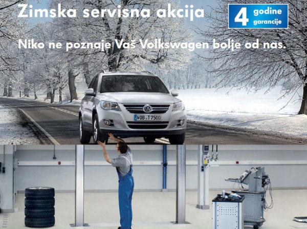 Zimska servisna akcija Porsche Beograd Sever