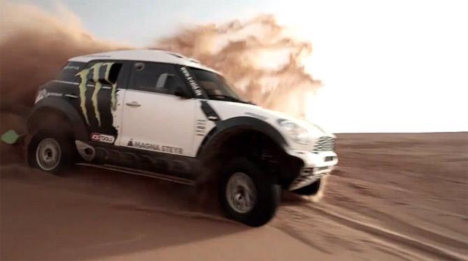 2013 Dakar Rally: MINI je spreman za bitku