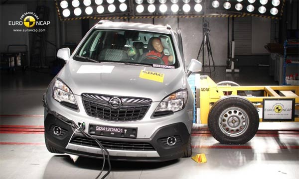 Opel Mokka 5 zvezdica na EURO NCAP
