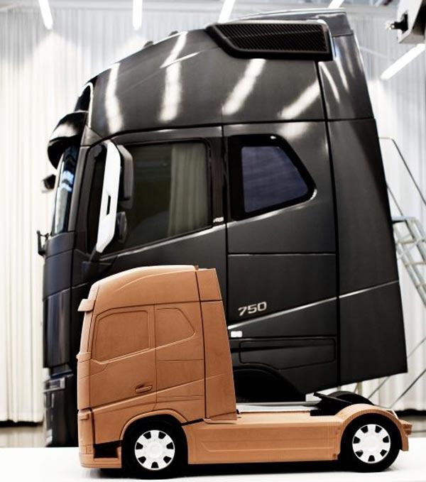 Novi Volvo FH – glavni izazov za dizajnere kompanije Volvo Trucks