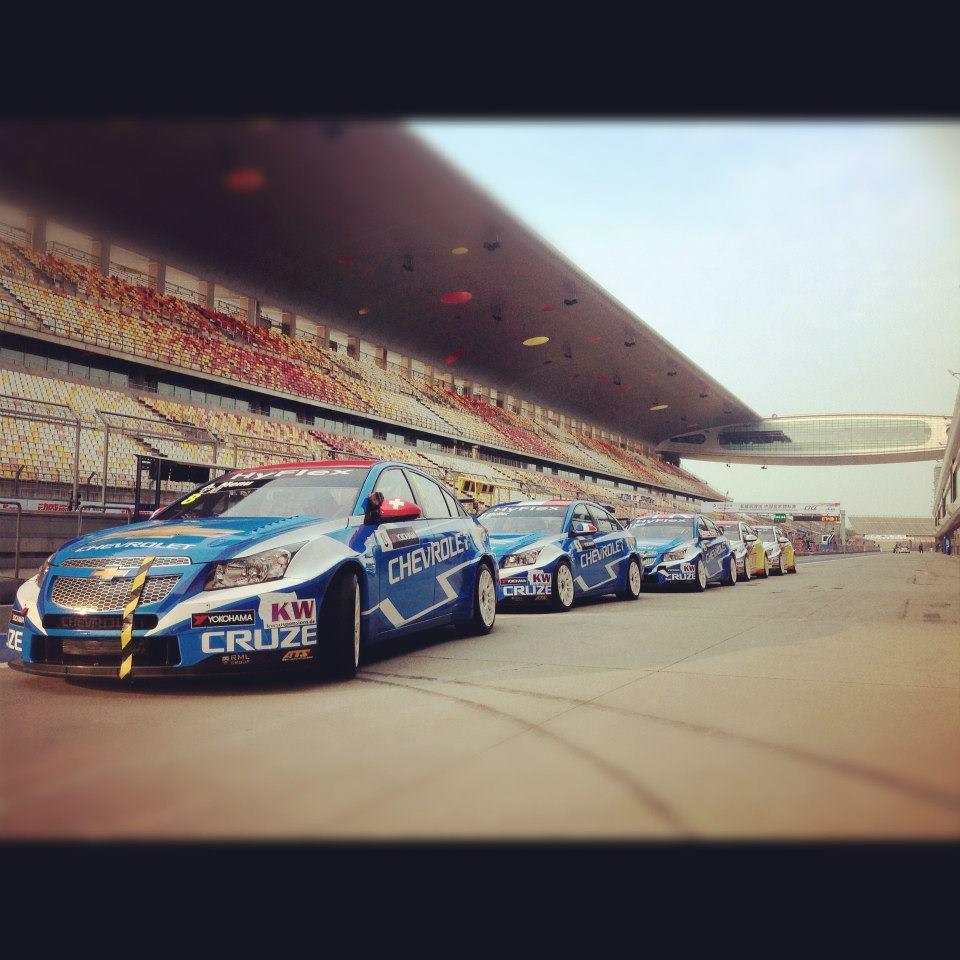 Dominacija Chevrolet WTCC tima u Šangaju